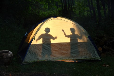 Image: Camping with kids