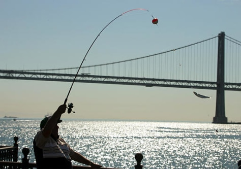 Image:  Fishing in San Francisco