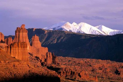 Image: Fisher Towers