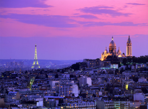 Image: Paris skyline