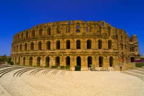 Image: Colosseum of El Jem