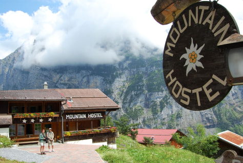 Image: Mountain Hostel in Gimmelwald, Switzerland