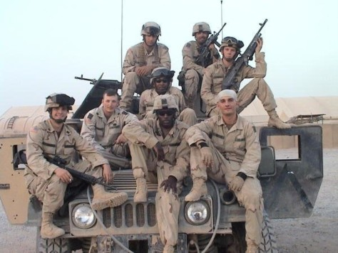 Image: Platoon in Iraq