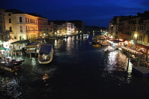 Venice at night, May 2009.