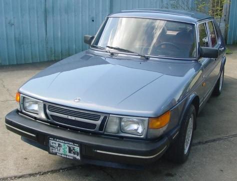 Image: 1986 Saab 900