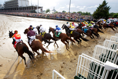 Image: 136th Running of the Kentucky Derby