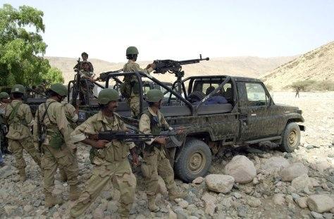 Image: Yemeni soldiers