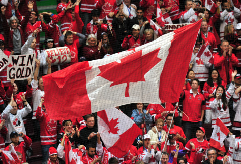 Image: Canada fans