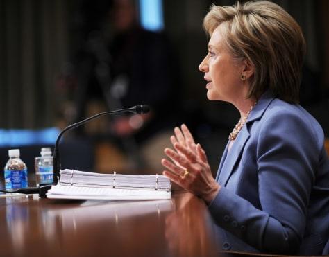 Image: Secof State Hillary Clinton
