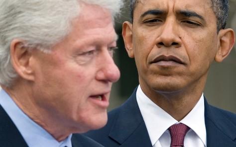 Image: Clinton, Obama
