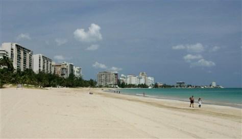 Image: Isla Verde Beach in San Juan, Puerto Rico