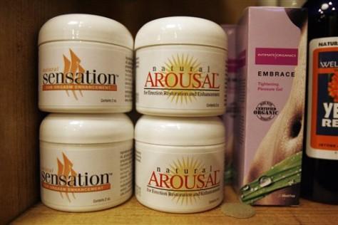 Image: Pleasure gels in store