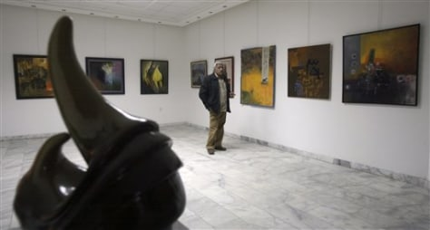 IMAGE: ART GALLERY OWNER