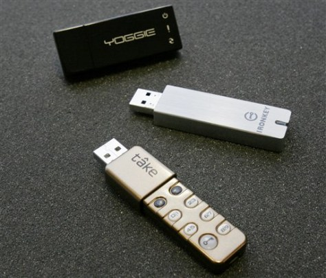 Tech Test Flash Drive Security