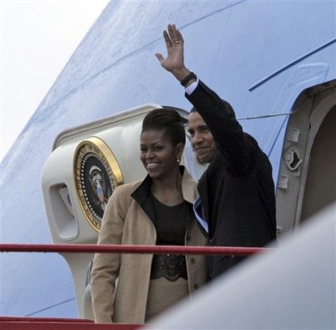Image: Obamas