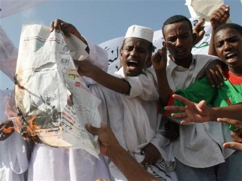 Image: Sudan protesters
