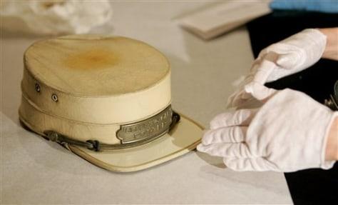 IMAGE: 1930s Pullman railroad porter hat
