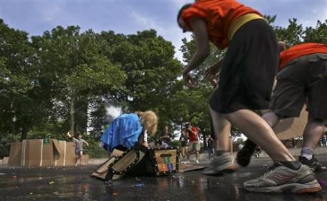 Image: Street games festival