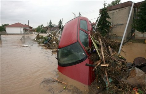 IMAGE: BULGARIA FLOODING