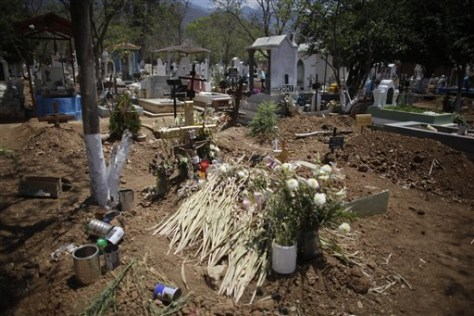 Image: Maria Adela Gutierrez's grave