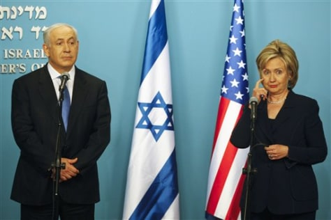 Image: Clinton with Netanyahu