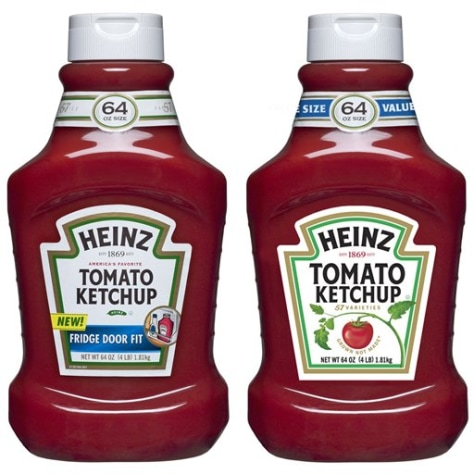 Image: Heinz ketchup labels