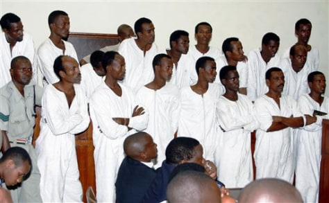 Image: 17 suspected Somali pirates