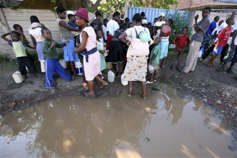 Image: Cholera in Zimbabwe