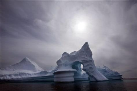 Image: Arctic ice off Greenland