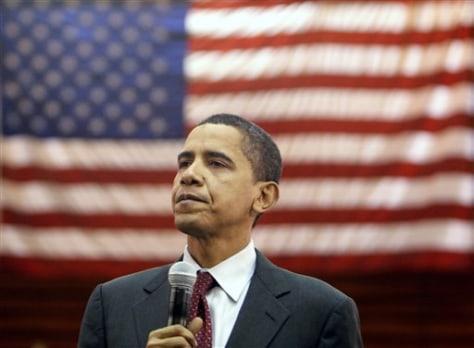 Sen. Barack Obama D-Ill.