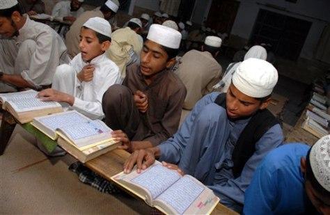Image: Darul-Uloom Madina religious school