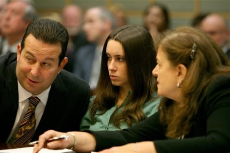 Image: Casey Anthony in court