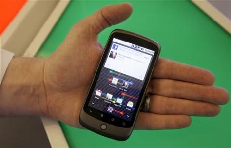 APTOPIX Google Phone