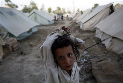 Image: Pakistan refugee camp