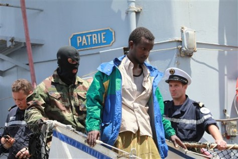 Images: French commando and pirate