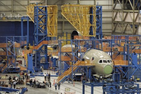 Boeing 787 Snags