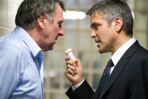 Tom Wilkinson, George Clooney