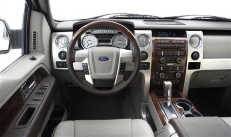 Image: 2009 F-150 interior