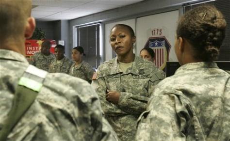 Image: Sgt. Maj. Teresa King