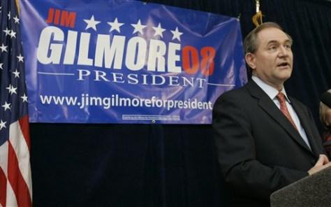 Former Gov. Jim Gilmore, R-Va.
