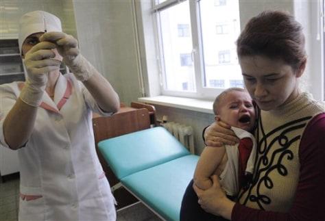 Ukraine Vaccine Scare