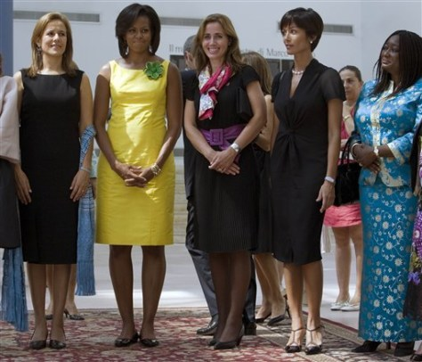 Italy G8 First Ladies