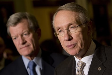 Image: Baucus and Reid