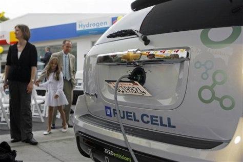 Image: Hydrogen car