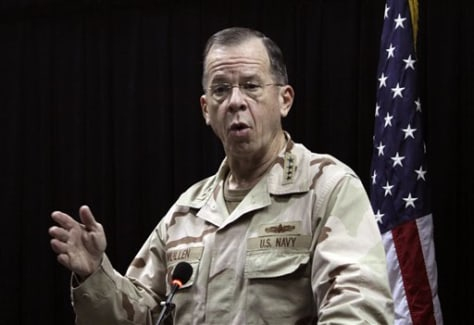 Image: U.S. Joint Chiefs of Staff Chairman Adm. Mike Mullen