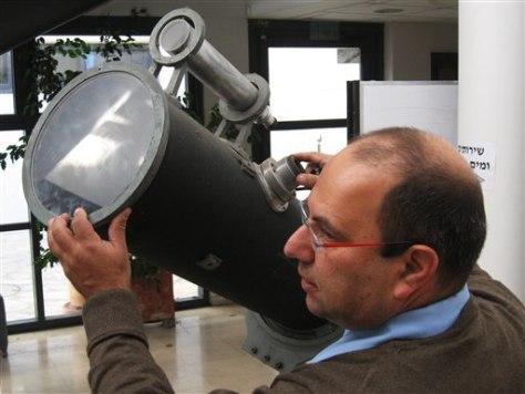 Image: Enstein's telescope