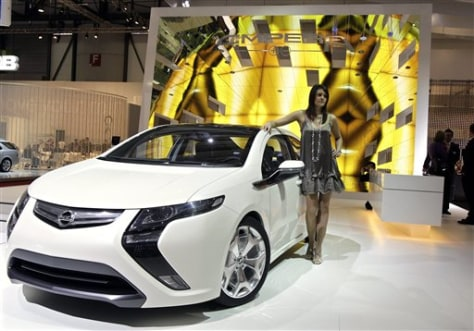 Image: All-electric Ampera