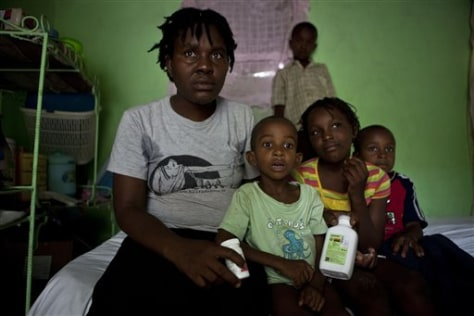 Image: Haiti Aids Success