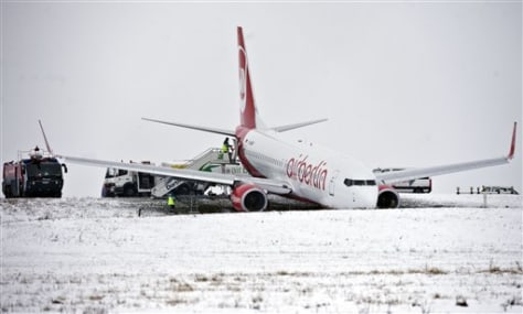 Image: Airport accident