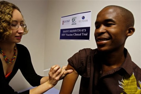 South Africa AIDS Vaccine